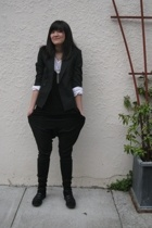 jacket - Elizabeth & James shirt - Splendid shirt - Zara pants - boots