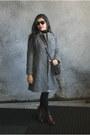 Leather-forever-21-boots-tweed-atmosphere-dress-tweed-mango-coat