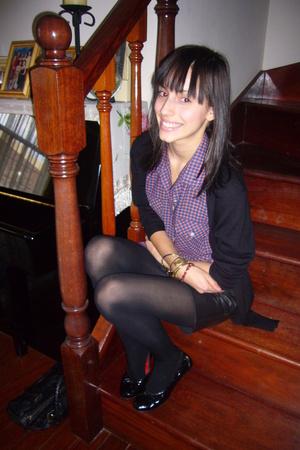 vintage shirt - deathstarvintage skirt - vintage bracelet