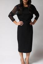 black Andrea Jovine dress
