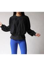 black Chaus blouse