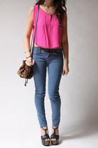 Hot-pink-malu-top