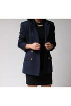 navy Talbots Petite blazer