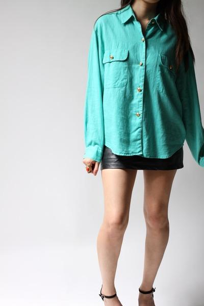 aquamarine Mark Fore & Strike shirt