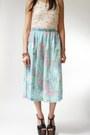 Aquamarine-alfred-dunner-skirt