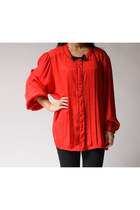 red Laura and jayne two blouse