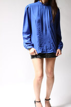 blue Monqiue blouse