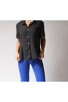 black Meghan Elisse blouse