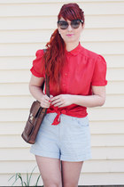 thrifted blouse