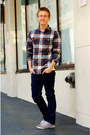 Periwinkle-urban-outfitters-shoes-navy-levis-jeans