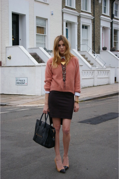 Tote-celine-bag-pencil-skirt-zara-skirt-angora-knit-h-m-jumper