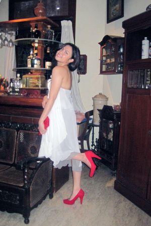 dress - naima shoes - hello kitty wallet
