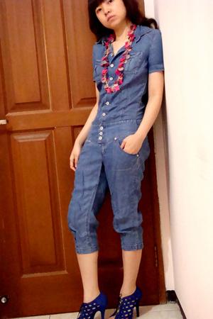 Mango pants - Zara shoes - Mango necklace