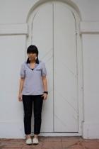 APC top - Uniqlo jeans