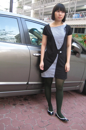 dress - tights - shoes