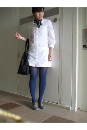 YSL scarf - GG5 dress