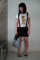 skirt - top - shoes - purse