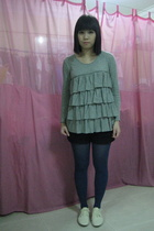jeanasis top - shorts - tights - shoes