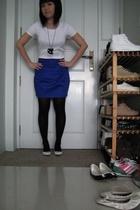 t-shirt - bkk accessories - skirt - shoes