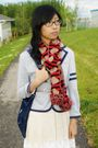Aldo-belt-from-japan-dress-winners-scarf-spring-shoes