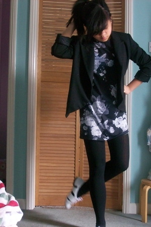 Zara blazer - Topshop shoes - Topshop