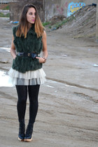 Zara boots - ange paris dress