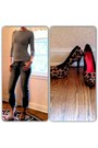 Leopard-print-divided-heels-striped-mossimo-top-rose-gold-mossimo-watch