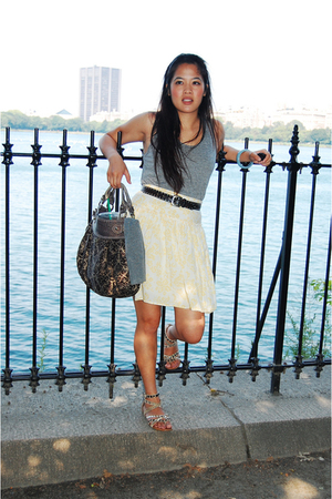 Gap skirt - American Apparel shirt - Bakers shoes - Guess purse