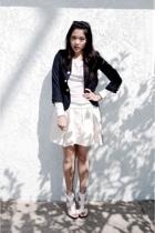 blazer - H&M shirt - Urban Outfitters skirt - Steve Madden Madden shoes