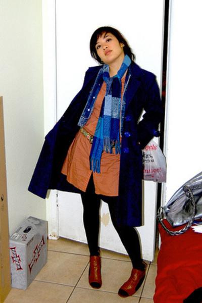 coat - dress - shoes