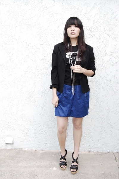 Beatrock shirt - blazer - richard chai skirt - Steve Madden shoes