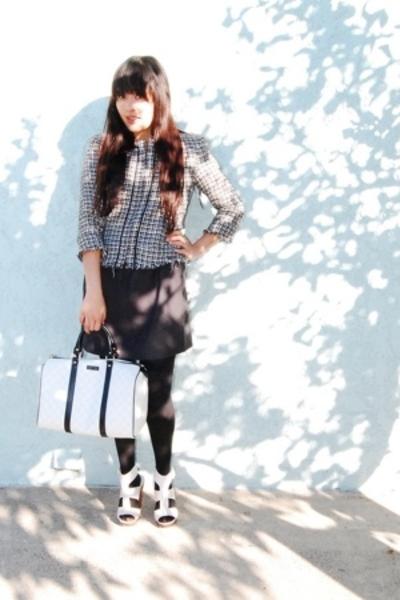 dress - Steve Madden shoes - Gucci purse