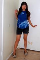 Hanes t-shirt - Lux shorts
