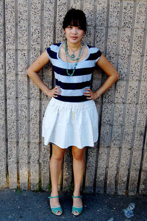 American Eagle shirt - Urban Outfitters skirt - payless shoes