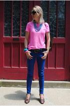 blue Marshalls jeans