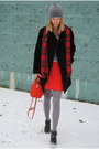 Black-jcrew-coat-red-furla-bag-red-jcrew-skirt