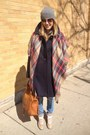 Navy-jcrew-coat-burnt-orange-zara-scarf