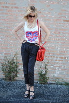 Nine West shoes - Marc by Marc Jacobs bag - H&M pants