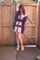 Lipsy dress - American Apparel sweater - Oasis shoes - Afflecks glasses