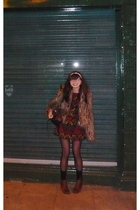 Topshop jacket - American Apprel dress - American Apparel leggings - balenciaga