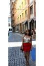 H-m-shirt-urban-outfitters-bag-ruffels-bcbg-skirt