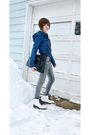 Blue-h-m-jacket-gray-cheap-monday-jeans-white-doc-martens-boots-gray-shaun