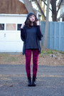 Poncho-forever-21-sweater-romwe-leggings