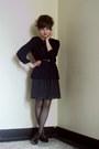 Polka-dot-zara-dress-forever-21-shirt