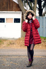 Brick-red-parka-lands-end-jacket-crimson-unknown-jumper