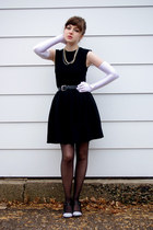 black simple black Rampage dress - black unknown belt