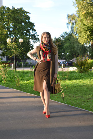Zara bag - asos coat - asos heels - asos skirt