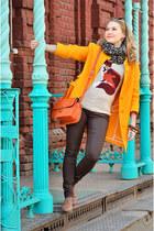 Incity jumper - asos boots - Zara coat - Zara jeans - Celine bag