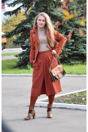 asos boots - BonPrix jacket - Zara pants