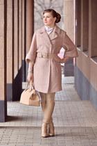 ARZOmania boots - Love Republic coat - Mango bag - Accessorize bracelet